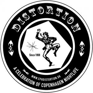 distortion festival logo