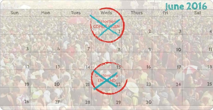world festivals for backpackers calendar