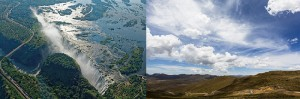 Vic falls - Viktoriafälle - Mosi-oa-Tunya