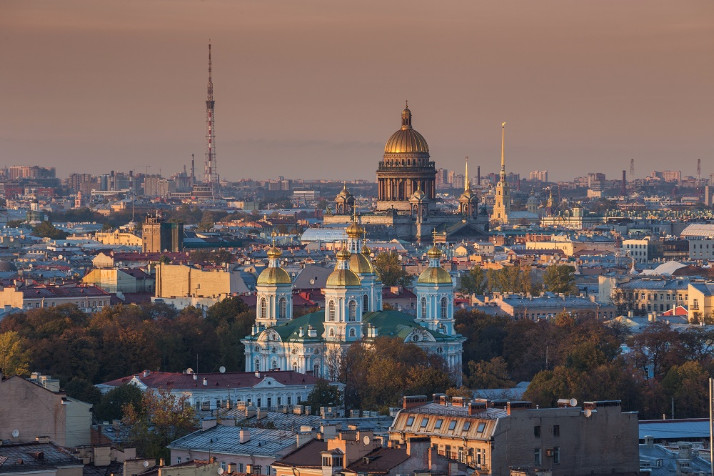 St petersburg in Russia
