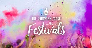 banner of European guide to festivals
